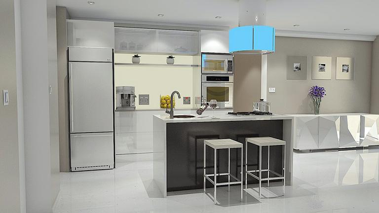 Kuhinje 3D modeli